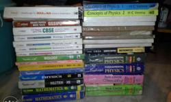 Class 12th PCMB all reference books NCERT Arihant for