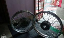Classic 350 rims for sale. Original rim used just 1 day