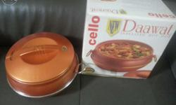 Brand new cello casserole , available in two colours :