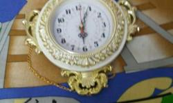 Clock of only one cell and in a good condition