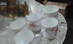 I want to sell my rare used coffee cups 5 same design
