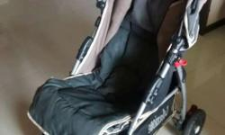 Multi featured branded baby stroller. It has multiple