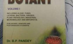 College Botany Volume 1 By Dr. BP Pandey