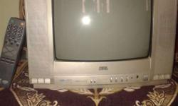 "BPL COLOUR TV 14"" in good condition with remote"
