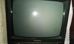 Colour tv of panasonic of 21inch with remote in working