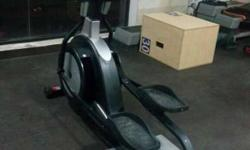 Commercial cross trainer used. Edge fitness company