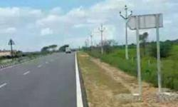 Commercial plot 3 side road at chevella to shabad