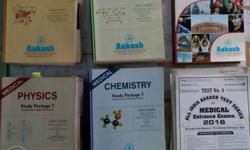 Complete AAKASH STUDY MATERIAL Set of 30 books [