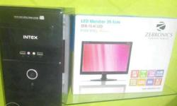 COMPLETE New BRANDED PC Core duO / 4GB/ 320GB with 1