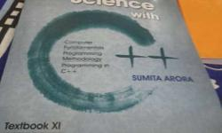Computer Science With C++ By Sumita Arora Book