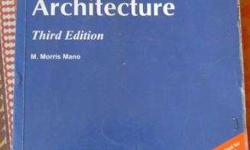 Book of Computer System Architecture by M. Moris Mano