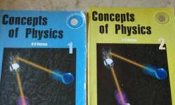 Concepts Of Physics Books