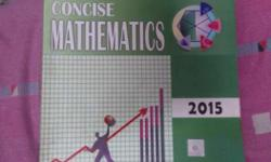 Concise Mathematics Book