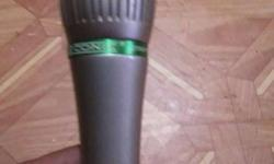 conic mic in a gd condition with all wires with it