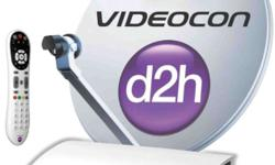 Contact for any Videocon D2h connection SD, HD, 4k and
