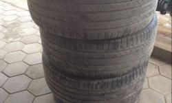 Conti 255/55/R18 tyre only 17000 runned tyre contact