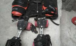 Cosco skates pack in good newly condition.