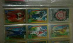 Cricket Attax cards, Limited Edition gold cards