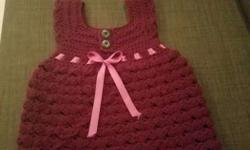 crocheted V-Neck vest for boys. message me to order as