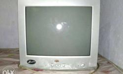 crt monitor is a good condition please interested call