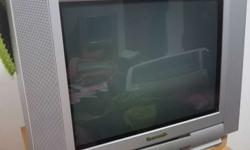 Panasonic TV with stand in good co dition for sale