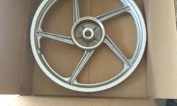 Ct100cc bike front alloy wheel for sale unboxed bajaj