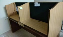 cubical tables for immediate sale. going cheap..