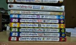 Dairy of a wimpy kid..one year old ,. All in new