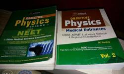 DC Pandey vol 1 & 2 For JEE & NEET. Books in good