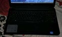 Dell Inspiron touch Laptop 15 6inch i3 3rd gen 4gb ram