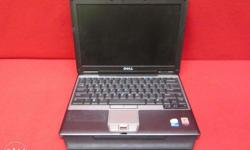 dell used Laptop Rs.6000 Core2duo 1gb/80gb 12""
