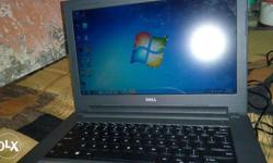 dell vostro laptop core i3 with charjer Rs 11900/- only