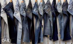 Denim Jeans for Men. Sizes available from 28-36. Fully