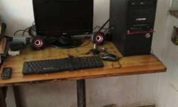 Sell desktop Monitor, Excellent Condition, Motherboard-