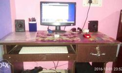 Desktop. New only one month use duel core 2 gb ram 180