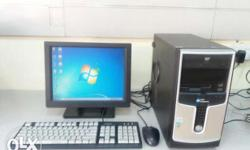 Desktop PC With LCD Just Rs.5000/- Good Working