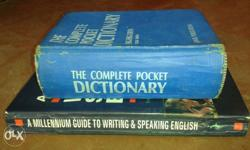 dictionary and laering English books only rs 150