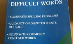Dictionary Of Difficult Words Textbook