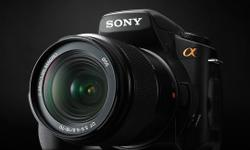 Hi,  This is very sparingly used sony alpha 300 with