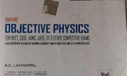 Objective Physics Volume 1 & Volume 2 books for NEET