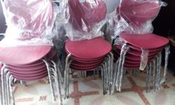 Dining chairs for resturants brand new and unused.