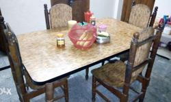Dining table for sale. good condition