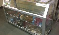 Display counter, 2 pieces available for immediate sale