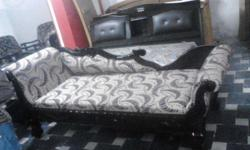 Its a brand New Diwan with Teak wood and cushion, 7.2