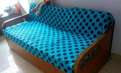 Double Bed with foam based two mattress