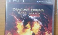 Dragon's Dogma Dark Arisen PS3 Scratch less disc