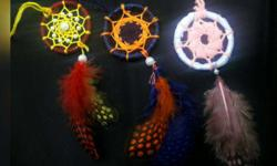 dream catcher key chains per pc 120rs customisation of