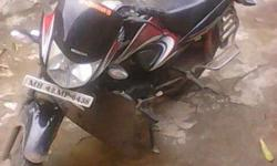 motorcycle is good condition only 8 month old rautwadi
