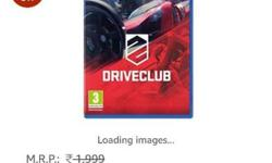 Drive Club PS4 Game Case Screenshot