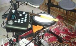 DB A107 Fresh like; not used Electronic Drum.